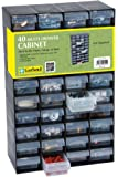40 Multi Drawer Plastic Storage Cabinet For Home Garage or Shed by Garland