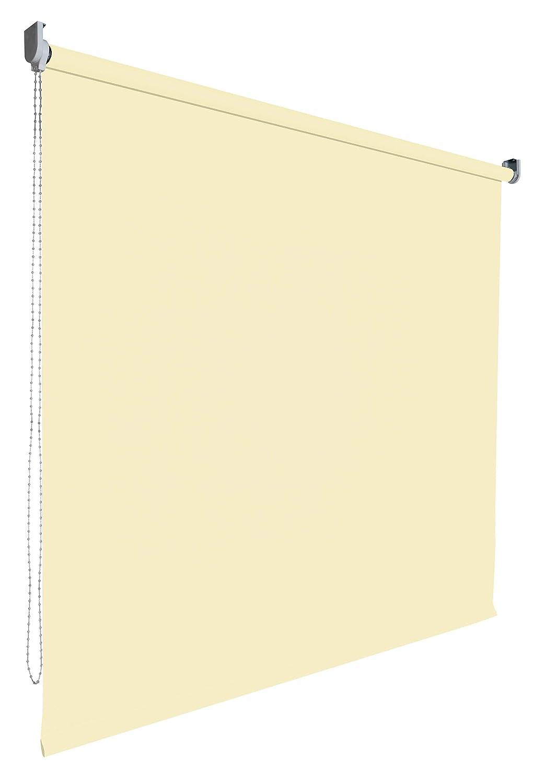 Verdunkelungsrollo Rollo Vorhang Fenster Kettenzugrollo Seitenzugrollo viele Farben Breite Breite Breite 60-200 cm Höhe 180 cm Stoff lichtundurchlässig verdunkelnd Metall Halter (Größe 110 x 180 cm Farbe Bohne) c60f22