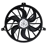 Radiator Cooling Fan Blade with Motor Replacement