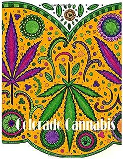 colorado cannabis adult coloring book - Cannabis Coloring Book