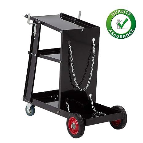 18d145042473 Welding Cart Welder Plasma Cutter Cart 3-Tier Universal Heavy Duty ...