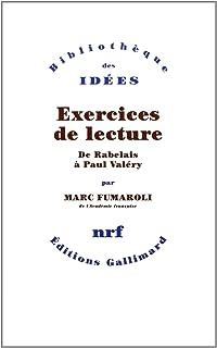 Marc Fumaroli - 3 Ebooks - La république des Lettres, Le Livre des Métaphores, Exercices de Lecture