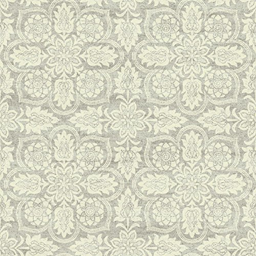 Classic Wallpaper - York Wallcoverings WC7503 Waverly Classics II Curators Gem Removable Wallpaper, Browns/Beiges