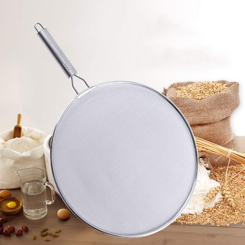 Kofun Filtro per Olio e Padella paraschizzi da Cucina in Acciaio Inox a Rete