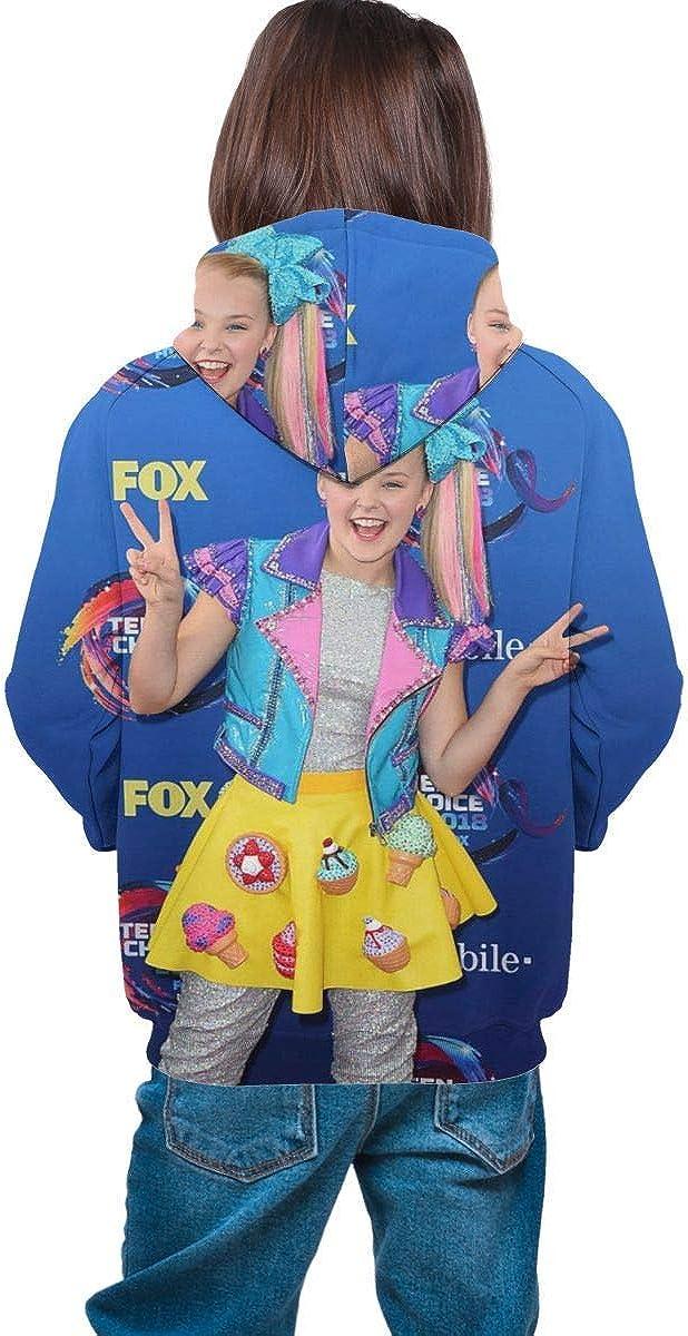 dgfgad Felpa con Cappuccio Kids Hoodie Hapy Girl Jo-Jo Si-WA Youth Sweatshirts Pockets Pullover Long Sleeve Hooded for Boys Girls
