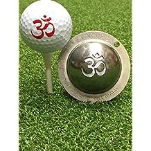 Tin Cup Golf Ball Custom Marker Alignment Tool - Om