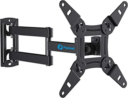 Full Motion HDTV TV Wall Mount Swivel Tilt VESA Bracket for 13-42 Inch LED LCD