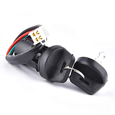 Ignition Key Switch 4 Wires Dirt Bike Electric Scooter ATV 50cc 70cc 90cc 110cc 125cc 150cc 200cc 250cc TaoTao SUNL: Automotive