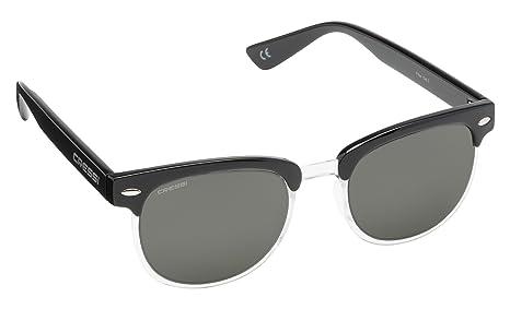 Cressi Panama Gafas de Sol, Unisex Adulto, Negro/Lente Gris ...