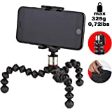 Joby Griptight One Gorilla pod Stand for Smartphones with Or Without A Case, Black, (JB01491-0WW)