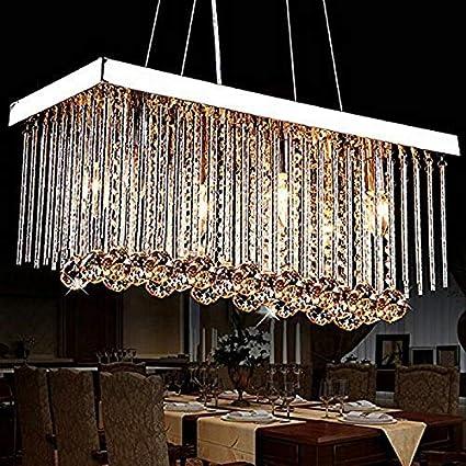 European Style Living Room Crystal Chandelier Home Lighting Lighting  Manufacturer Restaurant Bedroom Led Crystal Lamp Wholesale     Amazon.com