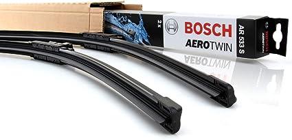 Bosch Aerotwin Juego de Limpiaparabrisas Delantero AR533S ...