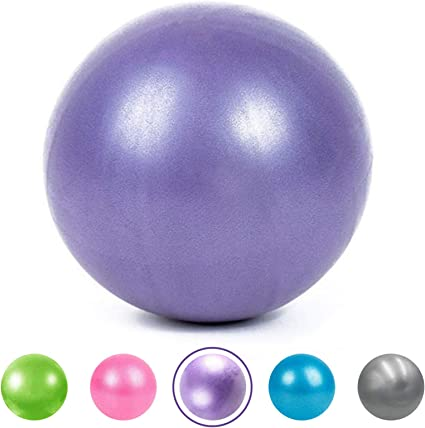2 Pcs Anti-Burst Yoga Pilates Ball Fitness  Exercise Mini Inflatable Exercise