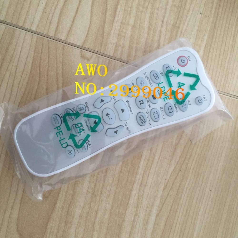 Calvas AWO REPLACEMENT Original Projector remote control FIT For Optoma HD33 HD30 HB5951 HD25LV HD25E HD2500(With a backlight) 1pcs/lot