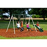 Best frame swing set - NEW Flexible Flyer Outside Fun II Metal Swing Review