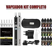 Vaper Cigarrillo Electronico, E-Cigarrillo E-líquido Manvap®:2 x EVOD