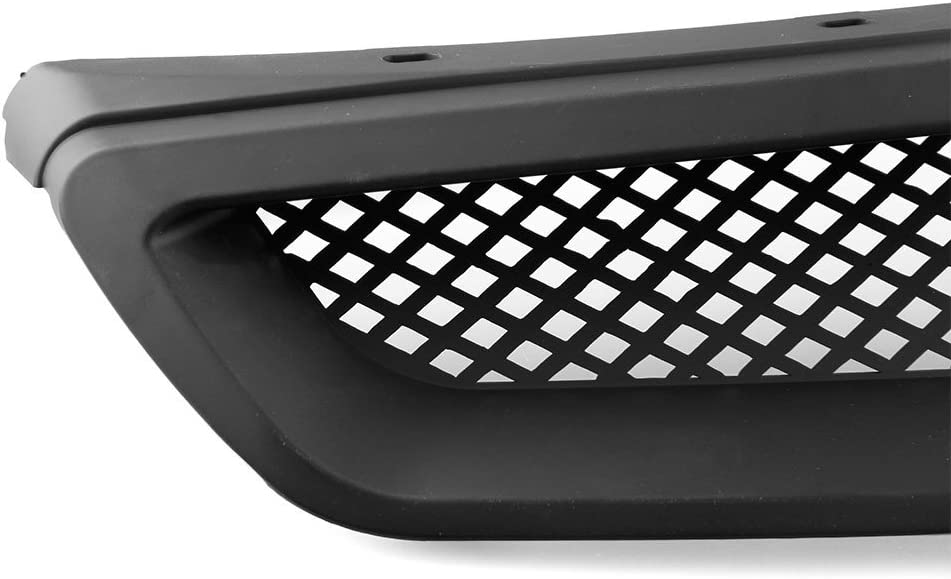 Car Grill Grille for 1996-1998 Honda Civic EK CX DX EX HX LX for Hood T-R ABS