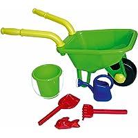 Peterkin UK Ltd - Wheelbarrow, Bucket, Pallet and Watering Can Set, Assorted Models / Colors, 1 Piece