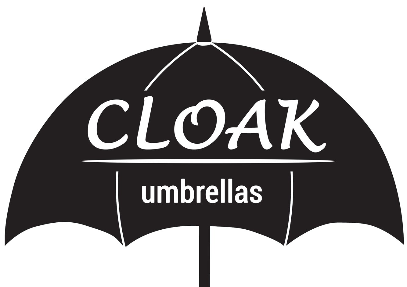 Cloak Umbrellas Auto Open Clear Umbrellas, 46'' ARC by Cloak Umbrellas (Image #5)