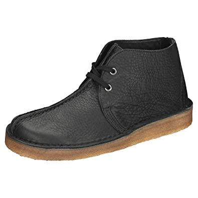 7267d0af4e29 Clarks Originals Desert Trek Hi Mens Chukka Boots in Black - 7 UK