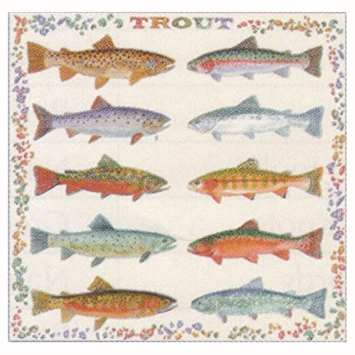 The Printed Image Trout Bandana 365
