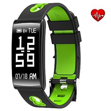 Pulsera inteligente para rastreador deportivo, impermeable según IP67 con supervisión de frecuencia cardíaca y tensión arterial, ...
