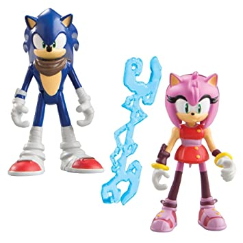 Buy Sonic Boom 3 Inch The Hedgehog And Amy Rose Articulated Figure With Accessory Pack Of 2 Online At Low Prices In India Amazon In