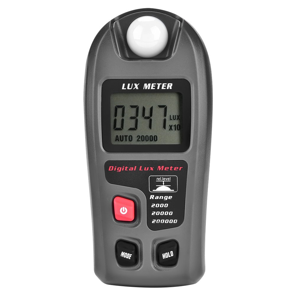 Light Meter, Asixx MT-30 Digital Luxmeter LCD Display Light Meter Environmental Testing Illuminometer Digital Luminometer Factory, Warehouse, School, Office, Family Laboratory
