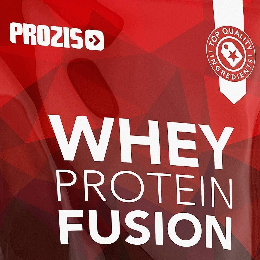 Prozis Whey Protein Fusion, Sabor Fresa - 900 gr: Amazon.es ...
