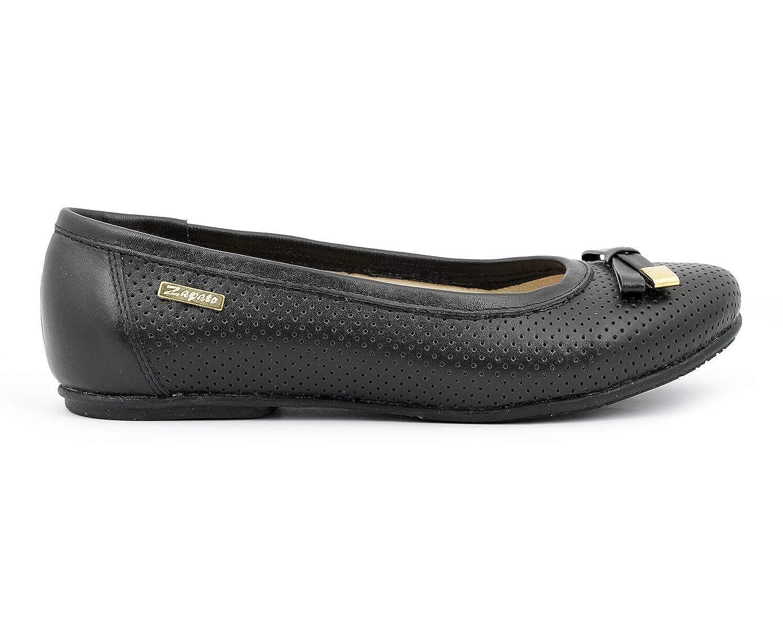 Zapato 012 Damen Damen Damen Ballett Schwarz - Schwarz - Größe  38 bb333a