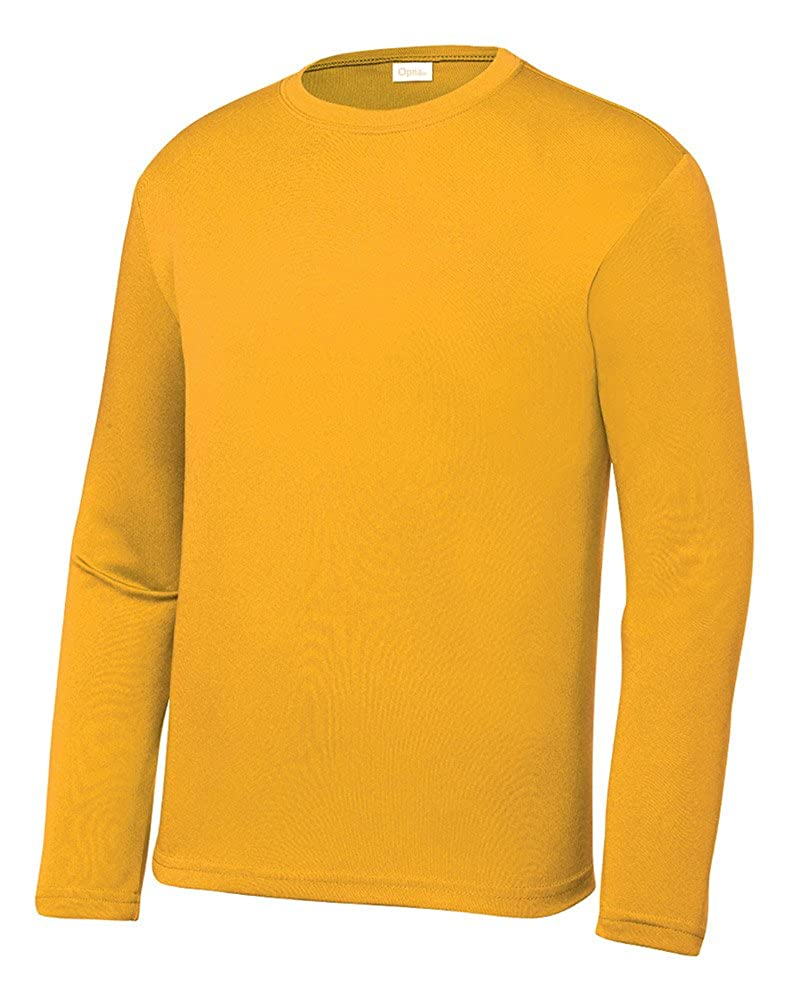 Opna Youth Athletic Performance Long Sleeve Shirts for Boys or Girls Moisture Wicking