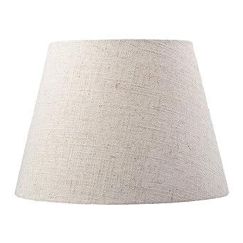 YUAND - Pantalla para lámpara de mesa (28 cm), diseño de tambor ...