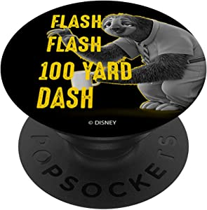 Disney Zootopia Flash Flash 100 Yard Dash PopSockets PopGrip: Swappable Grip for Phones & Tablets
