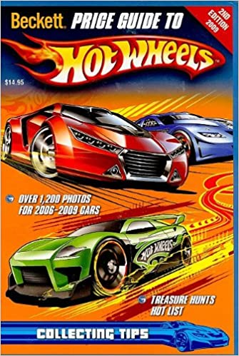 Amazon. Com: beckett price guide to hot wheels, 1st edition.