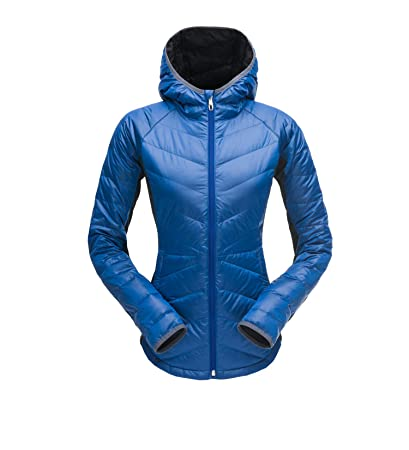 Amazon.com  Spyder Women s Solitude Hoody Waterproof Down Jacket for ... 7f8aaf8cd7ab