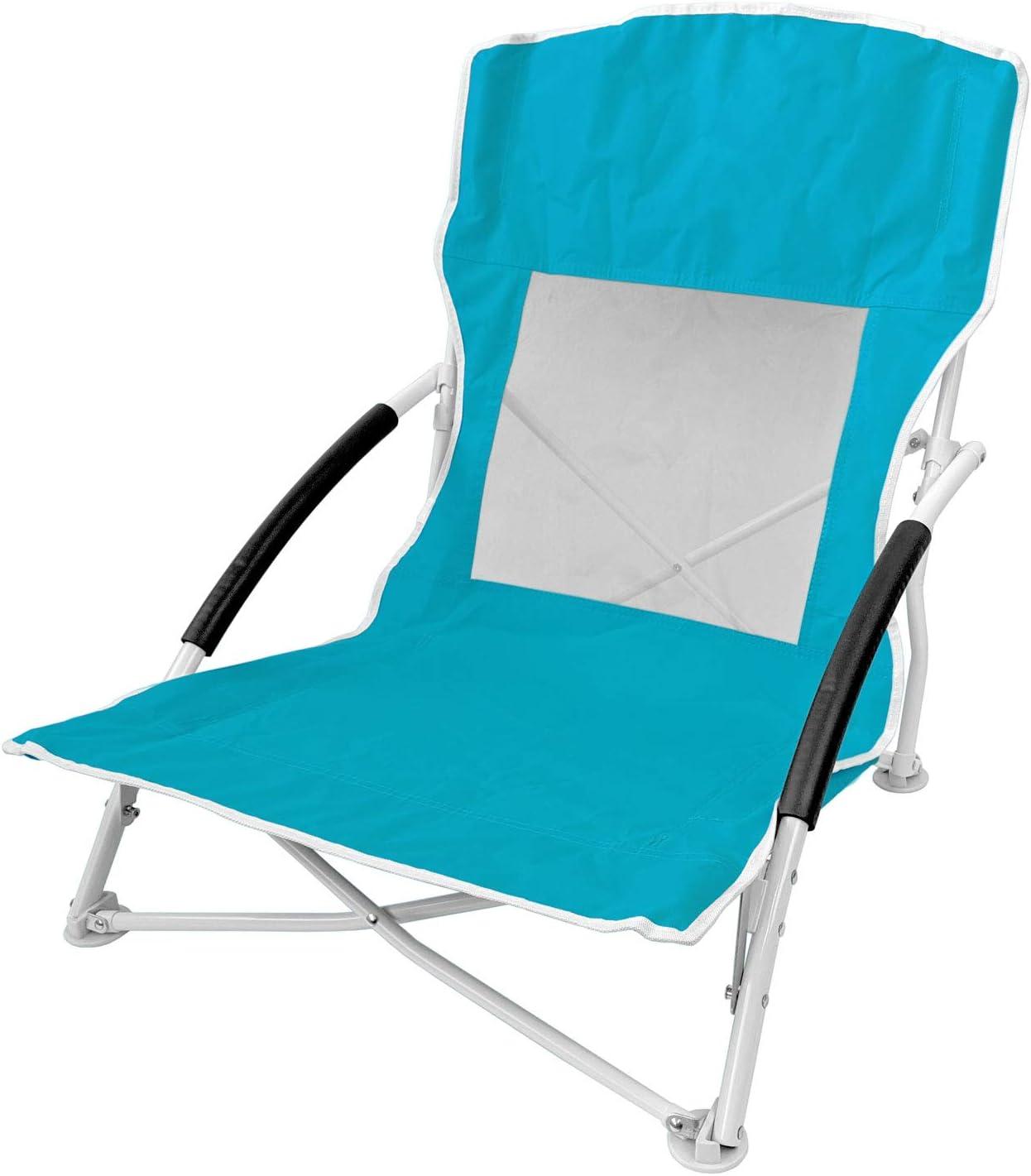 Transporttasche Campingstuhl klappbar Klappstuhl Gartenstuhl Balkonstuhl Farbe:Blau Unbekannt Strandstuhl Faltstuhl inkl