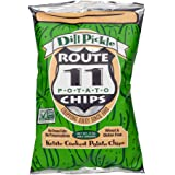 Route 11 Classic Potato Chips, Dill Pickle, 170g