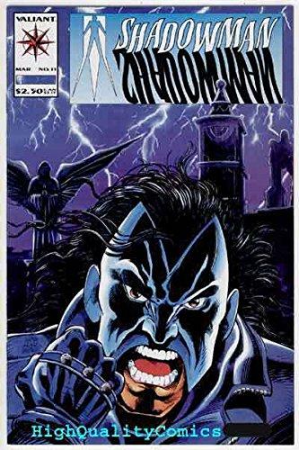 SHADOWMAN #11, NM, Valiant, Death, Bob Hall, 1993