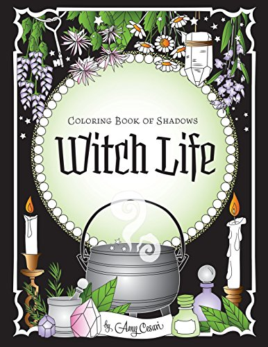 Pdf Crafts Coloring Book of Shadows: Witch Life