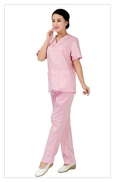 Mujer Trajes Uniforme Médico funcionamiento de habitaciones batas quirúrgicas (XXL)