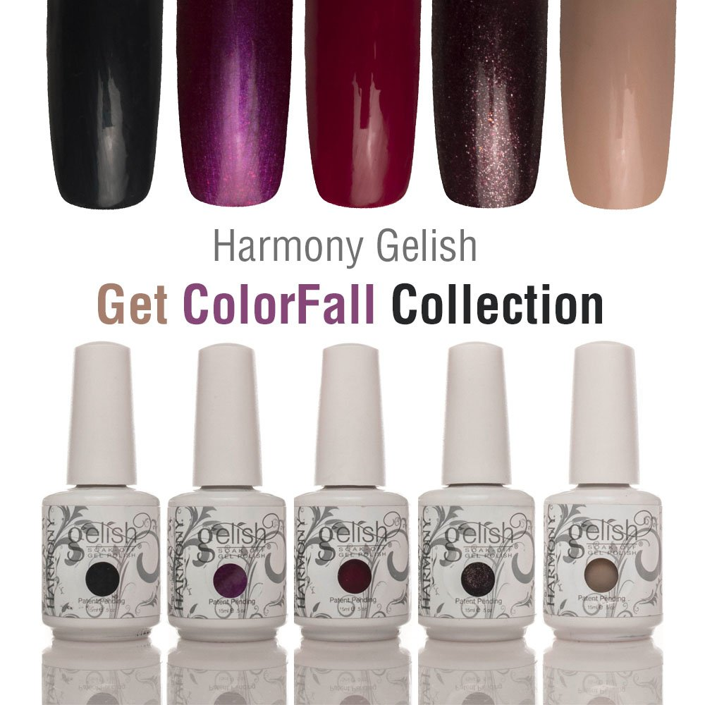 Amazon.com : Harmony Gelish - 2014 Get Color-Fall Collection - 6pc ...