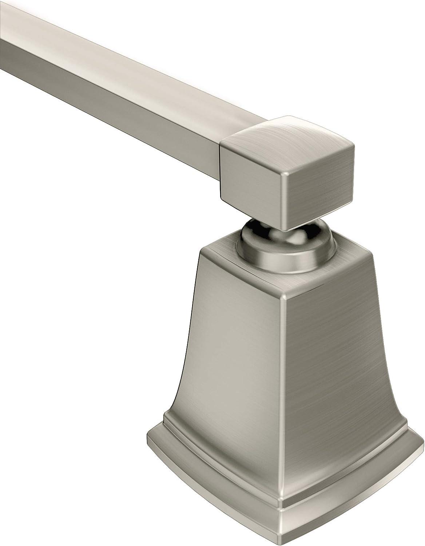 Moen Faucets Y3224bn Boardwalk Brushed Nickel 24 Towel Bar Bathroom Hardware Amazon Com