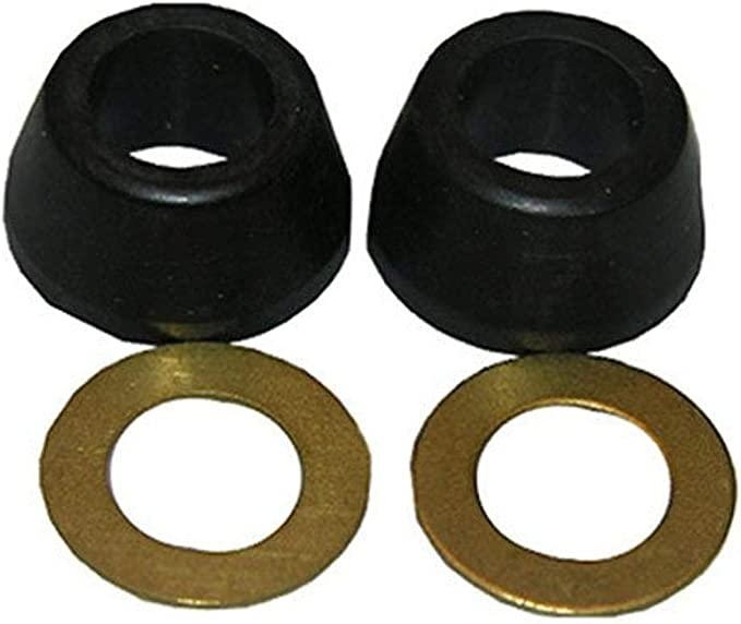 """36-109 Pack of 20 3//8"""" Rubber Cone Slip Joint Washers W// Friction Rings"""