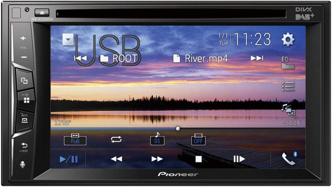 Pioneer Avh A3200dab 2 Din Multimedia Player 6 2 Zoll Elektronik