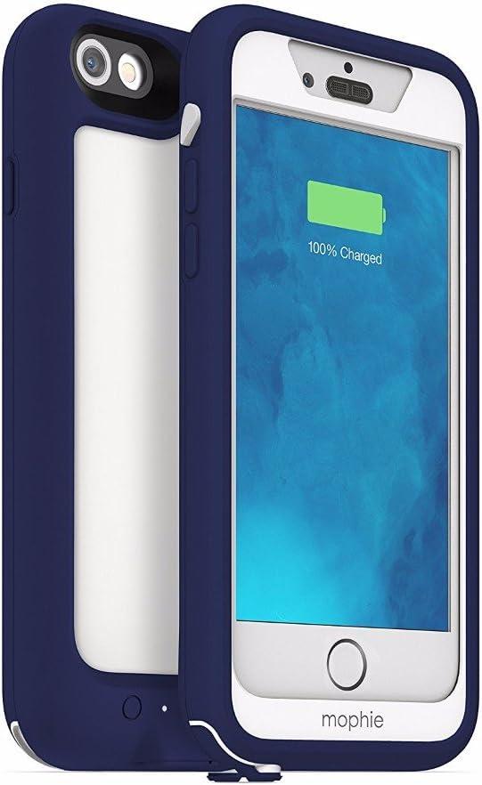 Mophie NA3103 - Carcasa Impermeable compacta con Cargador Apple iPhone 6/6S, Color Azul: Amazon.es: Electrónica