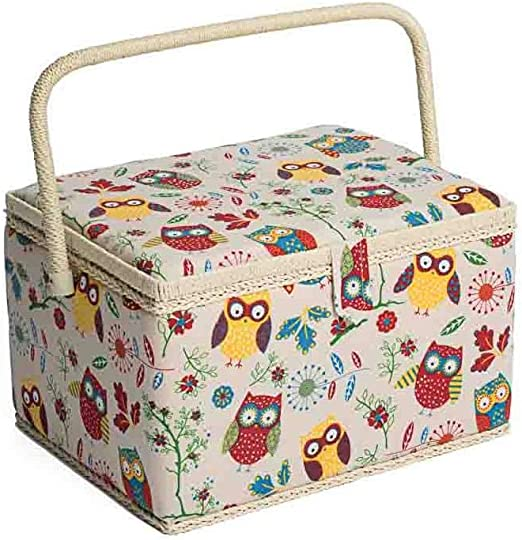 Haby Words HobbyGift MRL\439 Large Sewing Box//Organiser 24x31x20cm