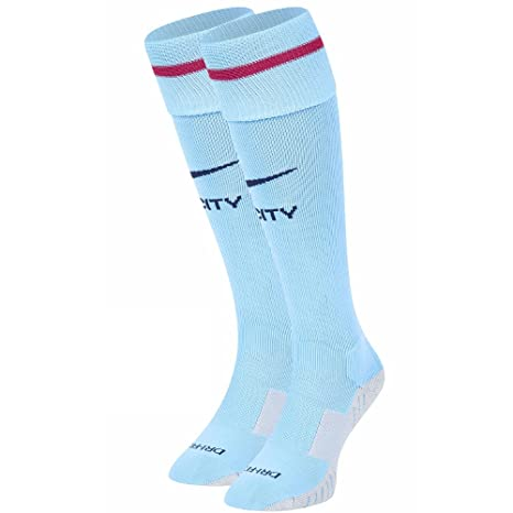 1b12a61d1fd Image Unavailable. Image not available for. Color  Nike 2017-2018 Man City  Home Socks (Blue)