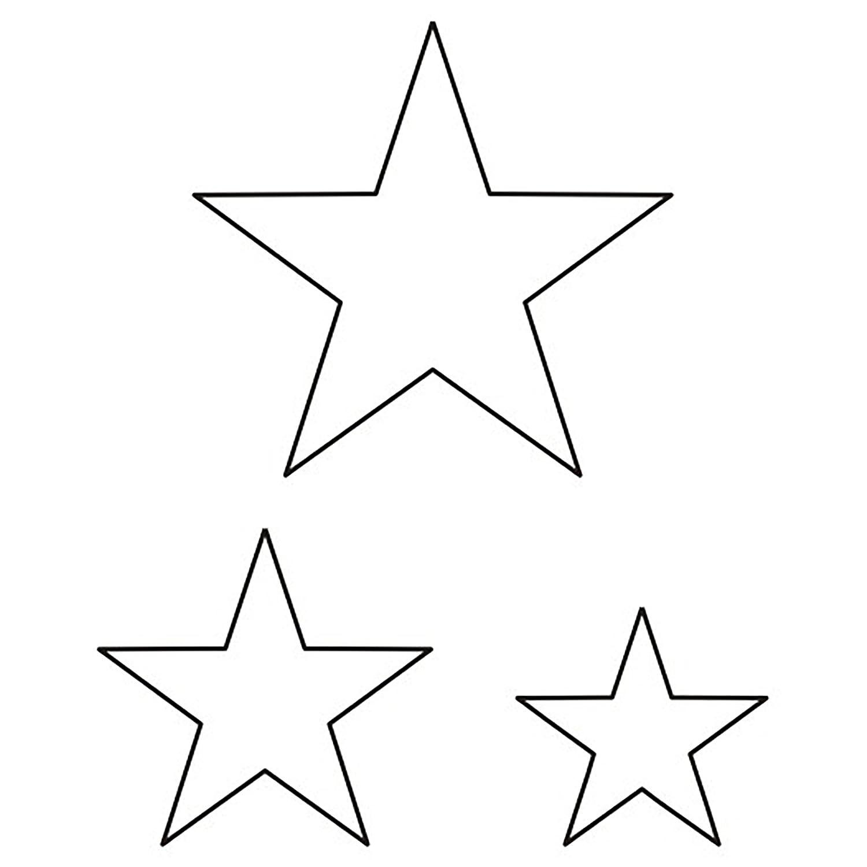 Stencils stars 61
