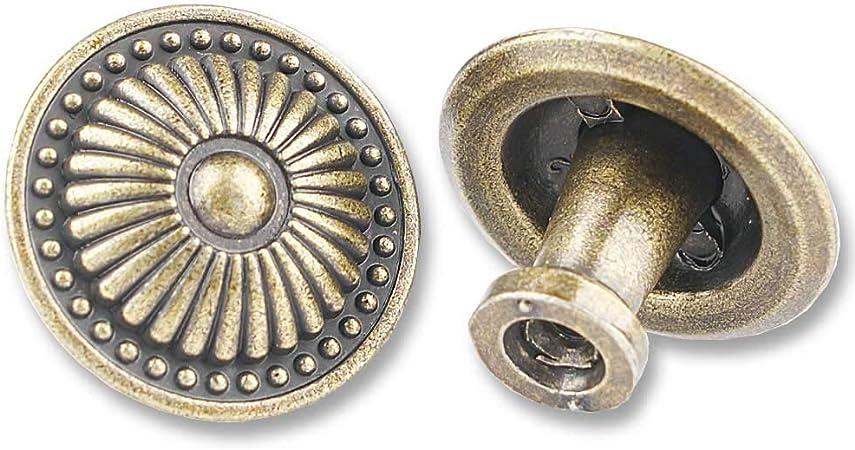 One Victorian Antique Original Vintage brass pull