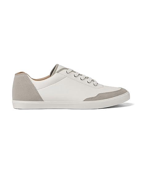 Zara - Zapatillas de sintético para Hombre Blanco Weiß, Color Blanco, Talla 41 EU | 8 US | 7 UK: Amazon.es: Zapatos y complementos